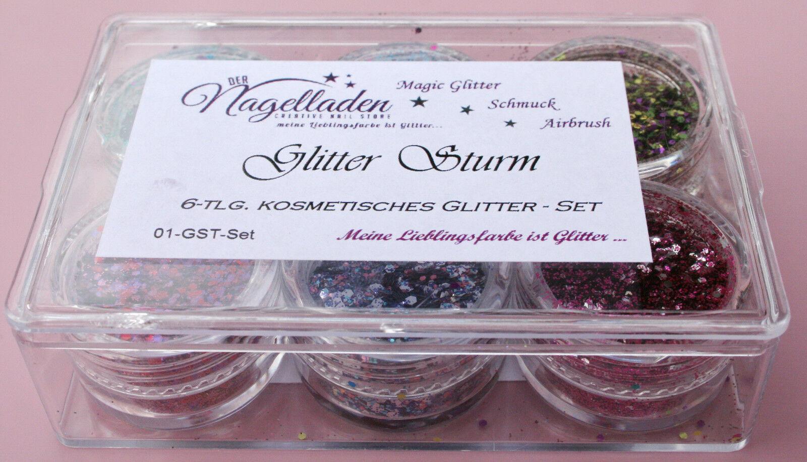 Der Nagelladen : Glitter Sturm - 6 Glitter