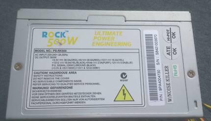 Rock PS-RK500 500W ATX Power Supply (PSU)
