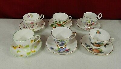 Cups Saucers Cup And Saucer Lot Of 5 Vatican