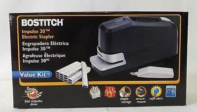 Bostitch Impulse 30 Electric Stapler Value Kit Black 02638