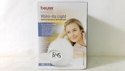 Beurer Wake-Up Light Sunrise Simulation Alarm Clock & Radio White WL32
