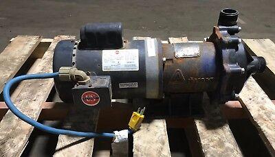 Iwaki 1 Hp Mag Drive Pump Mdh-401cv6-d - 115208-230v 1 Ph 2.5 Gpm Capacity