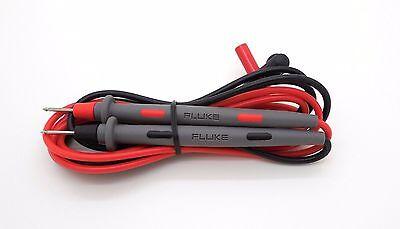 Fluke Tl71 10a Hard Point Test Leads W Tip Coverdigital Multimeter Meter Probes