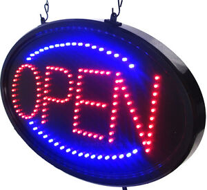 LED OPEN SIGNS - GET ATTENTION - when your business is OPEN !!!