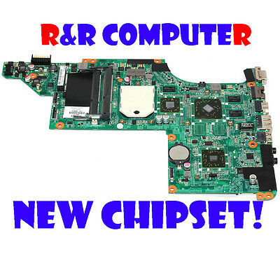 EXCHANGE!!NEW CHIPSET HP 615686-001 DV7 AMD Laptop Motherboard !!!NEW CHIPSET!