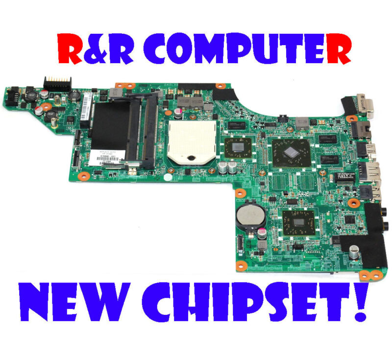 EXCHANGE!!NEW CHIPSET HP 615686-001 DV7 AMD Laptop Motherboard !!!NEW CHIPSET!