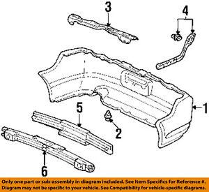RSX OEM Rear Bumper eBay