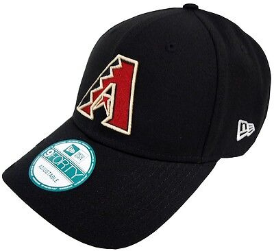 New Era Arizona Diamondbacks The League Velcroback 9forty Caps Adjustable Black