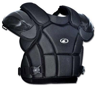 Baseball Softball Umpire Chest Protector - Champro Pro-Plus Umpire Chest Protector Tri-Dri Baseball Softball Black CP1