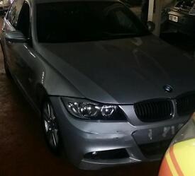 57 BMW 320D M SPORT AUTO SAT NAV ** TOP SPEC ** Spares or Repairs