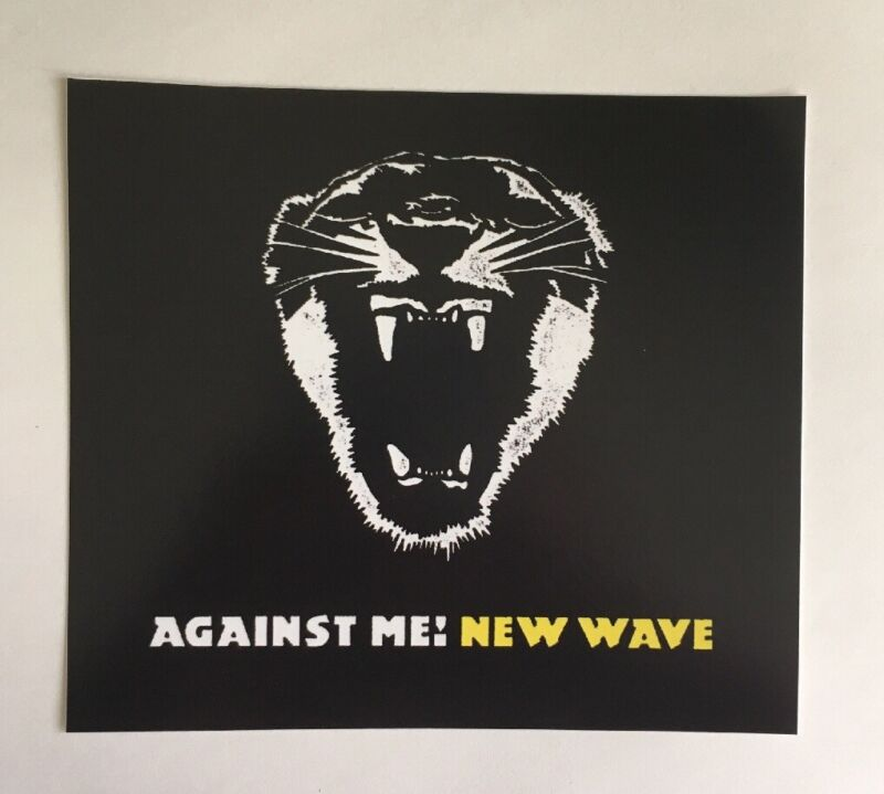 Against Me! Sticker