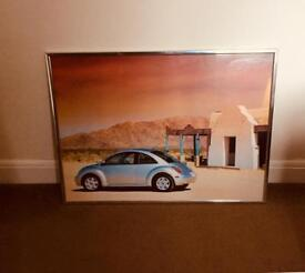 VW Beetle Framed Picture