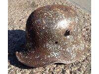 WW1 Relic German M16 Helmet Ground Recovered Passchendaele