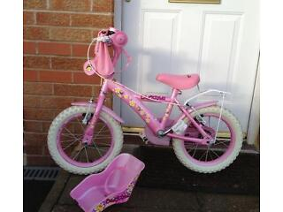 "Girls Apollo 'Daisy Chain' 14"" Bike"