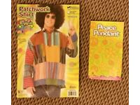 Hippie fancy dress costume outfit Gringo Patchwork Standard size 42 - The Hippy Clothing Co.