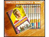 ## COMPLETE 13 DVD COLLECTION OF 1970'S CULT ORIGINAL TV SERIES MONKEY ##