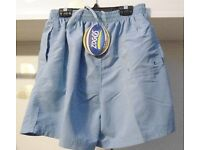 Zoggs Penrith Swim Shorts. Blue. Size S