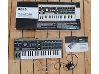 Microkorg keyboard synthesizer for sale