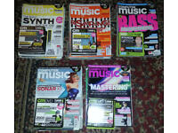 COMPUTER MUSIC MAGAZINES 2009 – 2013 (Complete with included DVD's).