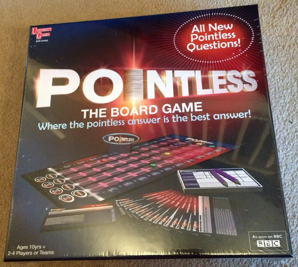 Pointless The Boardgame