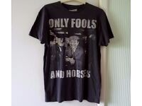 """FUNNY HUMOUR ONLY FOOLS AND HORSES: T-SHIRT OFFICIAL BBC RARE & HARD TO FIND: SIZE M 36"""""""