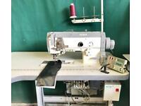 Pfaff 1425 Compound feed walking foot industrial sewing machine with servomotor thread trimmer