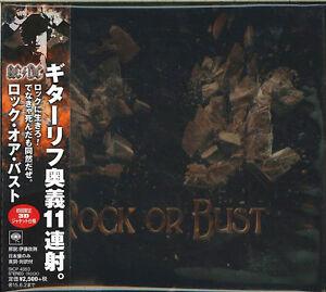 ac dc rock or bust japan cd ltd ed f56 ebay. Black Bedroom Furniture Sets. Home Design Ideas