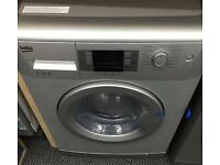 **CHRISTMAS SALE** New Graded Beko 7kg Washing Machine A+++ 1400RPM - Silver