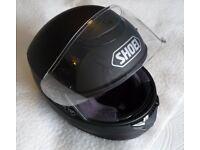 Shoei Qwest Motorcycle Helmet - Matt Black - Medium
