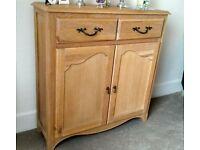 Next Small Tall Oak Sideboard £40