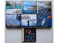 audio book bundle on cds.