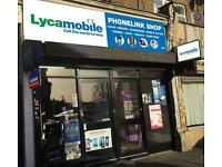 Mobile shop for sale, rent is £750 PCM including water electricity and internet....