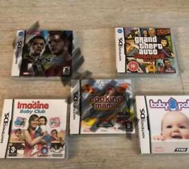 nintendo ds games £4 each or 3 for £10