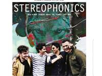 Stereophonics tickets x2 standing
