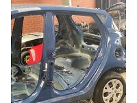 Hyundai i10 2013 Sapphire Blue Met WGM Bare Body Shell