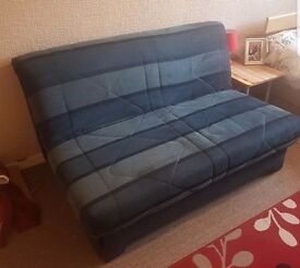 Pull out double sofa bed. Barely used