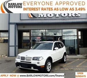 2009 BMW X3 xDrive30*EVERYONE APPROVED* APPLY NOW DRIVE NOW.