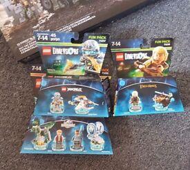 Lego dimensions x 3