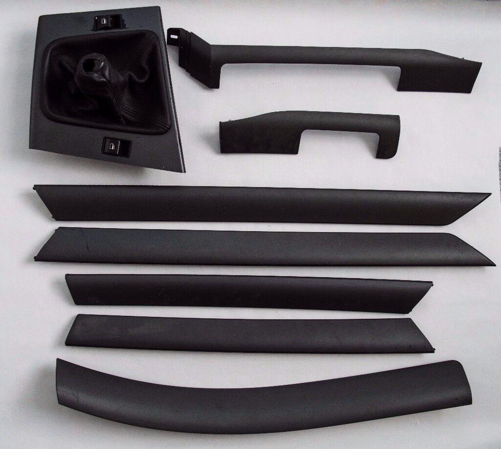 BMW E46 standard grey interior trim pieces