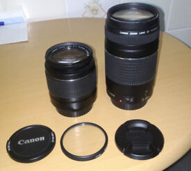 2 x CANON LENS 18-55mm & 75-300mm