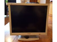 "Philips 18"" LCD Monitor - Great Condition"