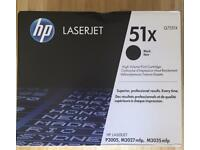 Original HP 51X Laserjet P3005 M3027 M3035 mfp Toner Cartridge Q7551X -Sealed