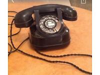 Old telephone antique