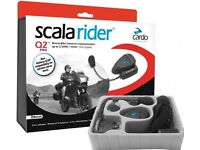 Scala Rider Q2 Pro Comms Systems x 2 - YES TWO UNITS