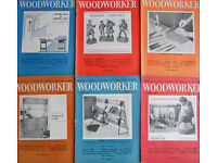 Woodworker Magazine - Job Lot - 20 Issues 1958 to 1961 - Craft - Woodwork - Cabinet Making - Joinery