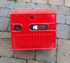 Fully reconditioned Riello 40 oil burner