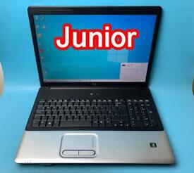 """HP 17"""" Big Screen Fast 320GB 4GB Ram Laptop, Win 10, HDMI, Ms office Excellent Condition"""