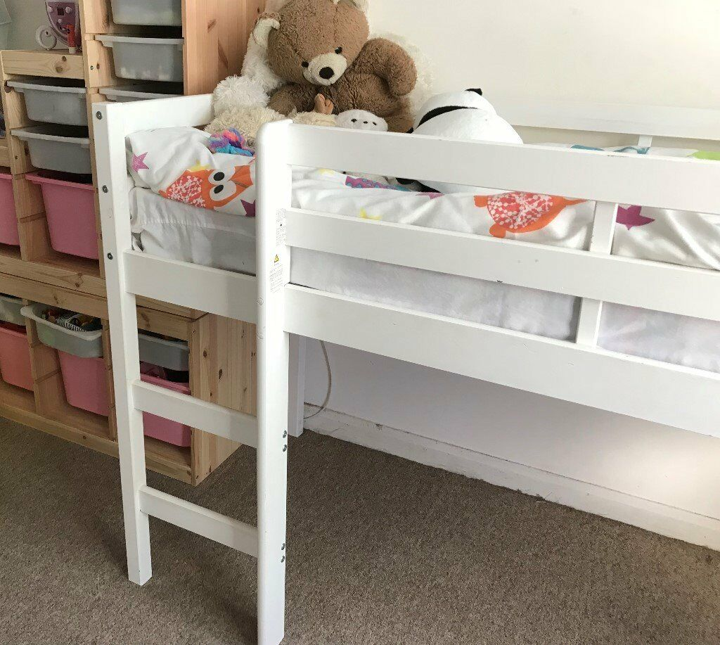 Chad Valley white shorty mid sleeper bed | in Leyton, London | Gumtree
