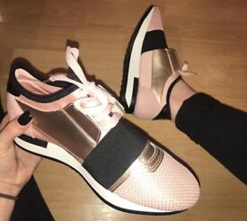 rose gold runners
