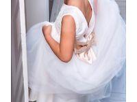 Little girls bridesmaid dress